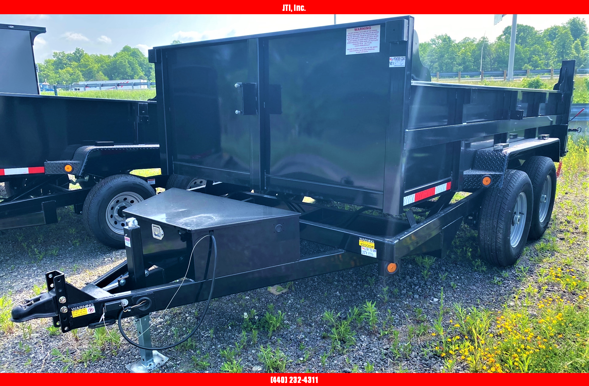2020 Quality Steel and Aluminum 7x12 Dump Trailer