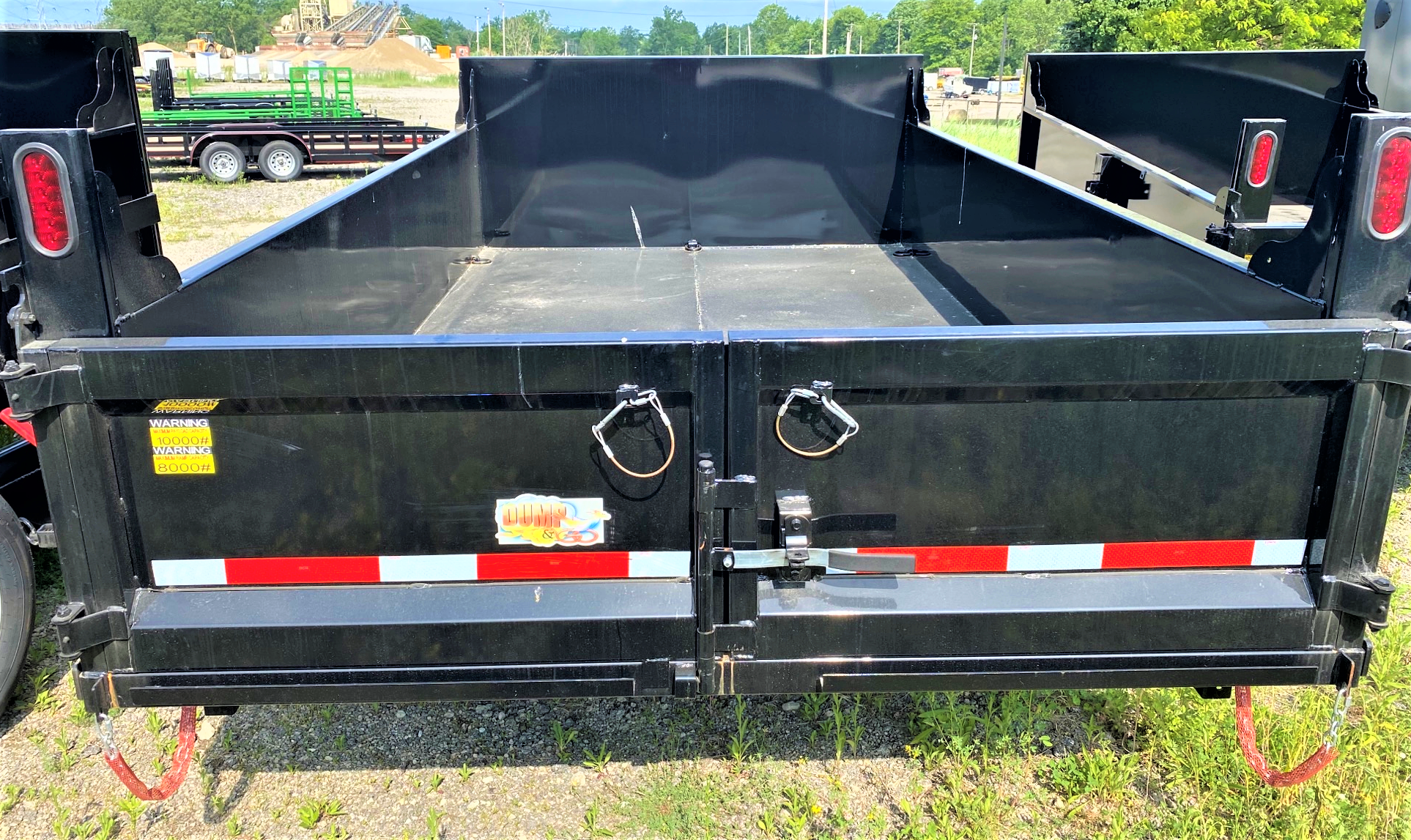 2020 Quality Steel and Aluminum 7x12 Dump Trailer