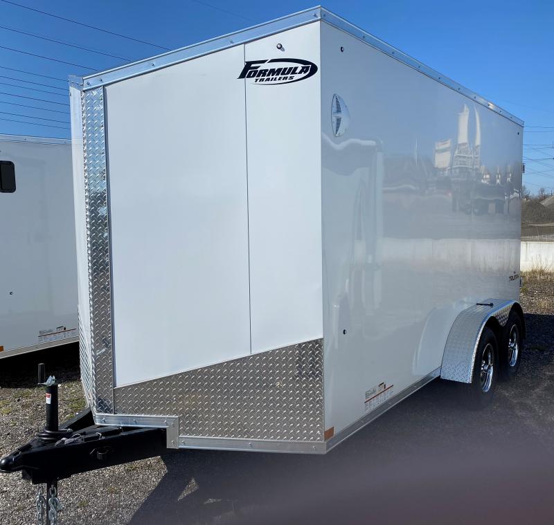2021 Formula Trailers 7X14 Enclosed Cargo Trailer