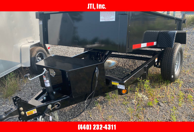 2020 Quality Steel and Aluminum 5X8 Dump Trailer
