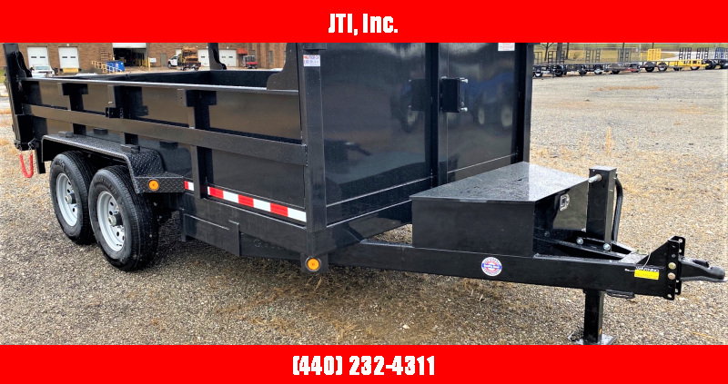 2020 Quality Steel and Aluminum 7X16 Dump Trailer