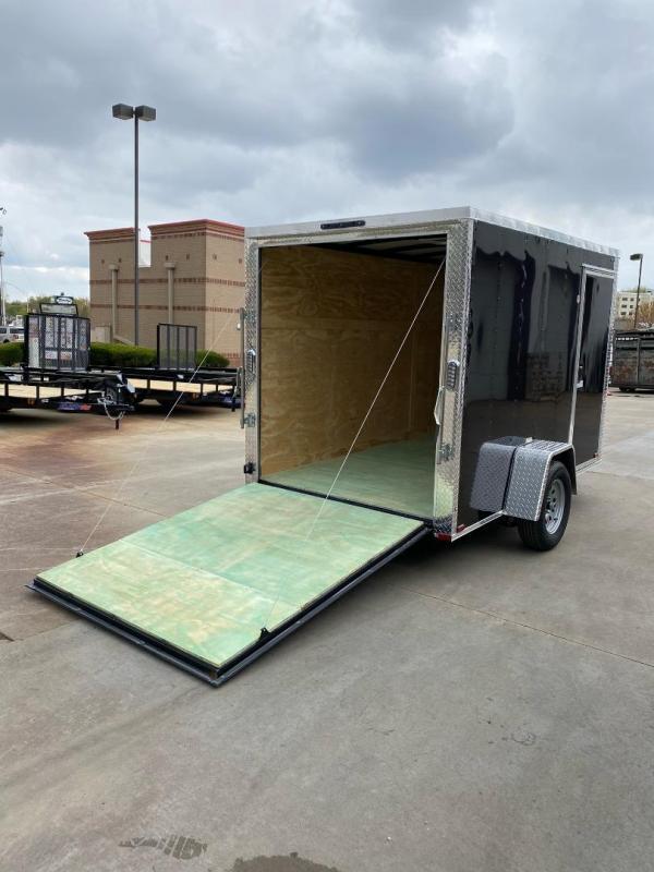 2021 Arising 6X10 Ramp Door Enclosed Cargo Trailer