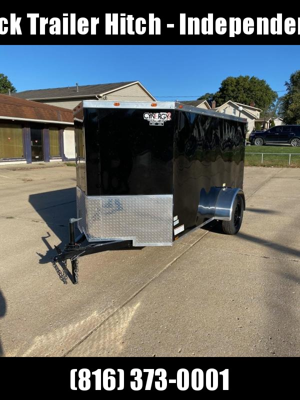 2021 Cynergy Cargo ENCLOSED TRAILER 5 X 10  BLACK IN COLOR Enclosed Cargo Trailer