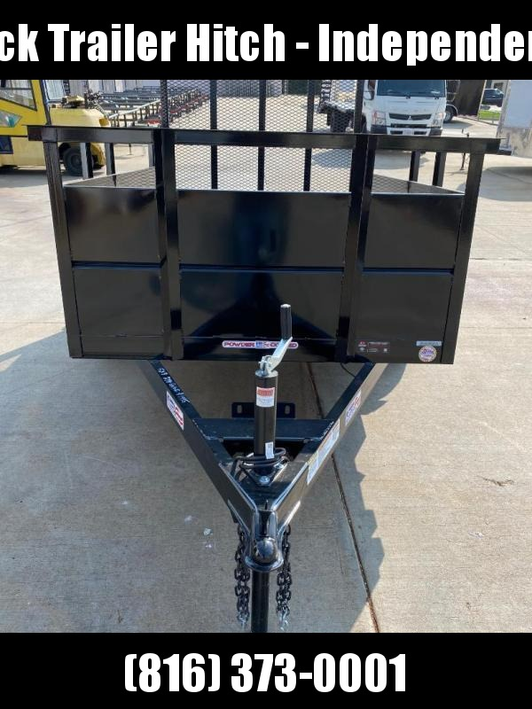 "2021 Liberty 5X10 30"" High Side Utility Trailer"