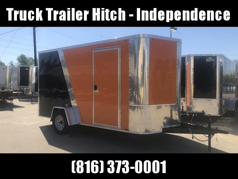 2019 Arising 7X12 WITH BRAKES Enclosed Cargo Trailer