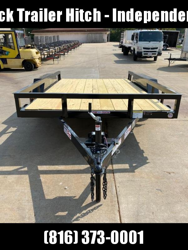 2021 Liberty 83X12 Tandem Axle Utility Trailer