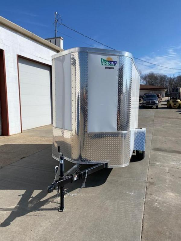 2019 Arising 5X8 Cargo Doors Enclosed Cargo Trailer