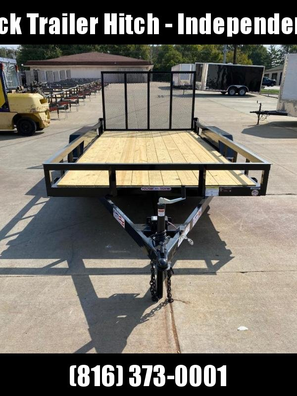 2021 Liberty 83X14 Tandem Utility Trailer