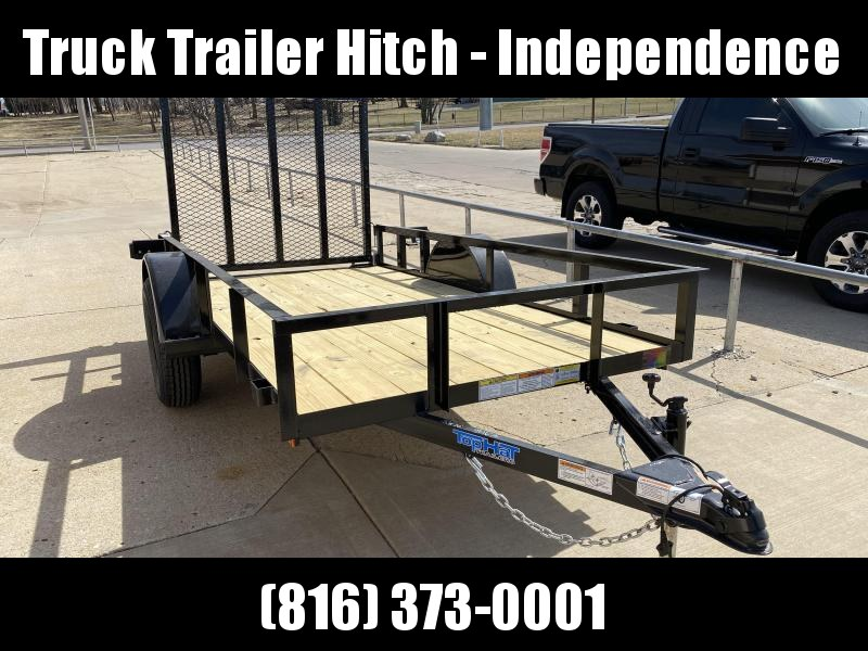 2021 Top Hat Trailers 5x10 Single Axle Utility Trailer