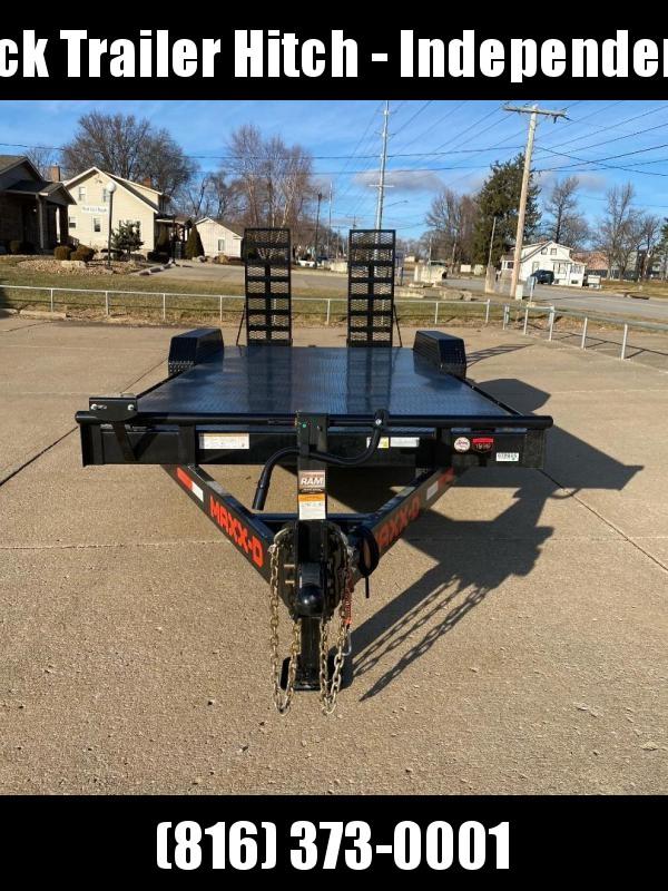 2021 Maxxd 83X20 14000 lb Equipment Trailer