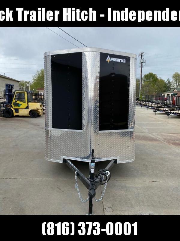 2021 Arising 6X10 Ramp Door Enclosed Cargo Trailer