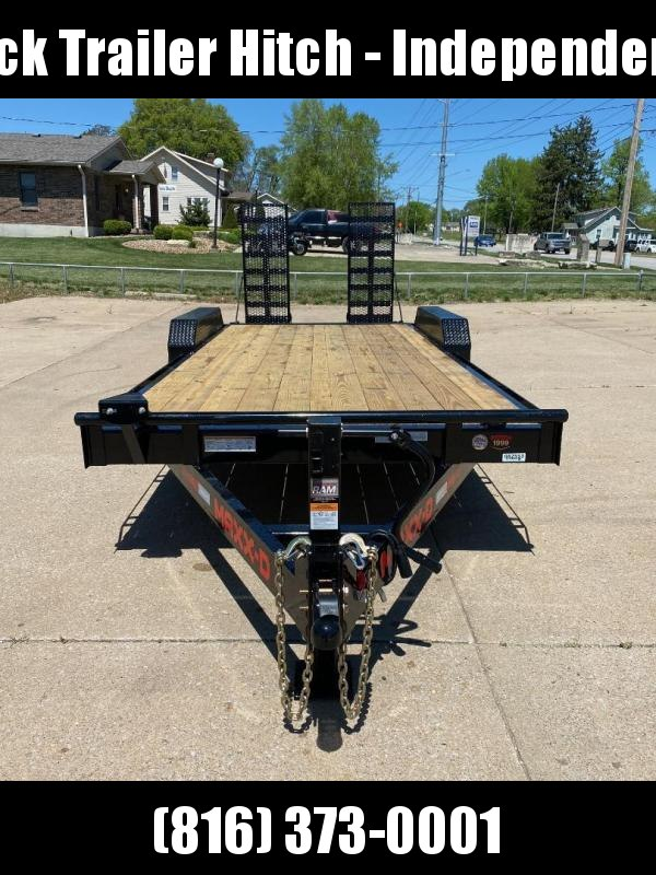 2021 MAXXD 83X20 C6X Equipment Trailer