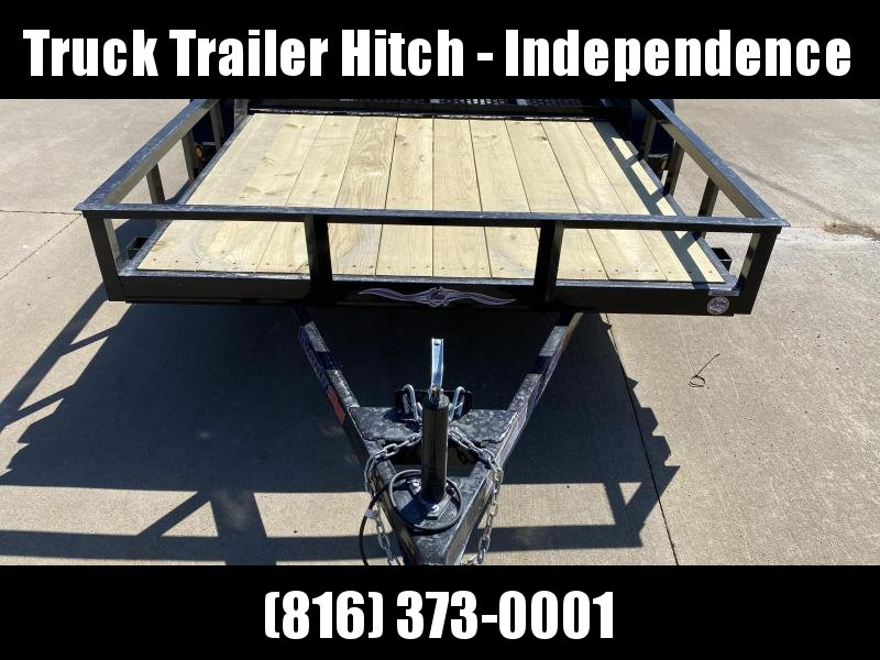 2021 Liberty 78X10 SINGLE AXLE Utility Trailer