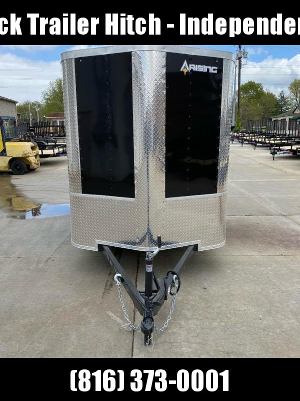 2021 Arising 6X12 Ramp Door Enclosed Cargo Trailer