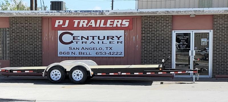 2020 PJ Trailers T5J2032ESTKV Equipment Trailer