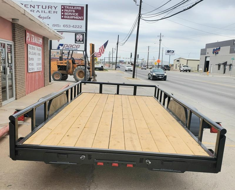 2021 Performance Trailers MP7718 Utility Trailer