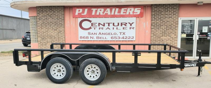 2021 Performance Trailers RP7714 Utility Trailer