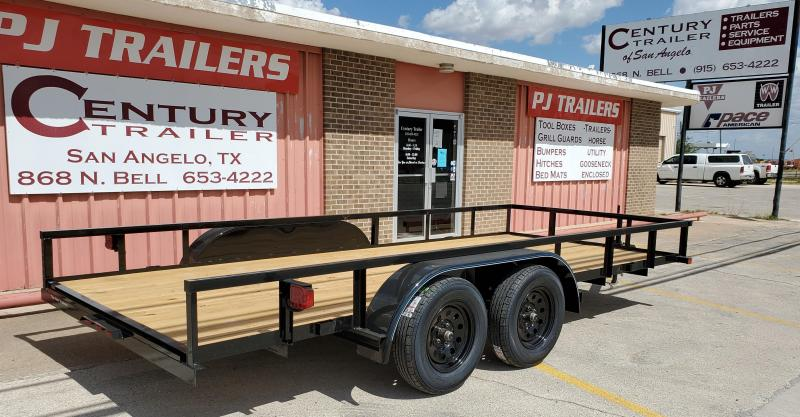 2020 Top Hat Trailers 16X77 LDX Utility Trailer