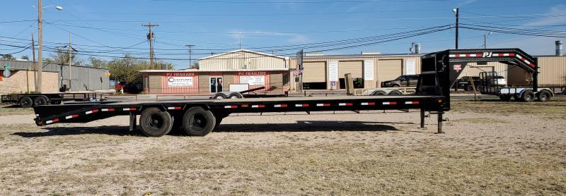 2021 PJ Trailers ldr32a2bseksx Equipment Trailer