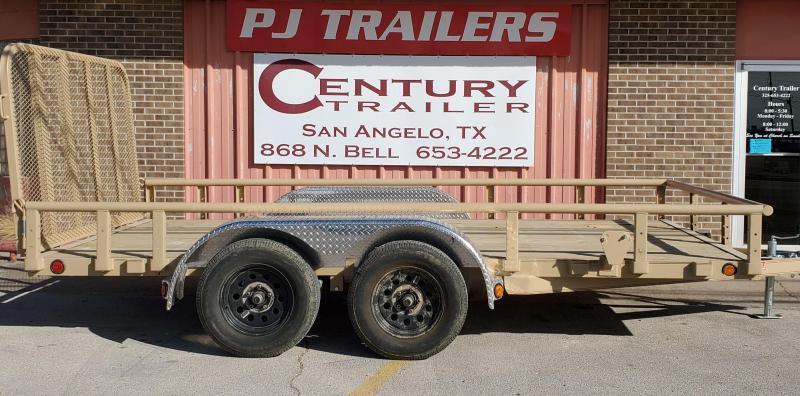 2021 PJ Trailers ul21432csgtpv Utility Trailer