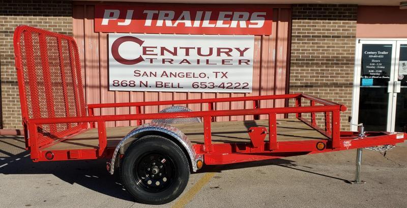 2021 PJ Trailers u221031dsgkpv Utility Trailer
