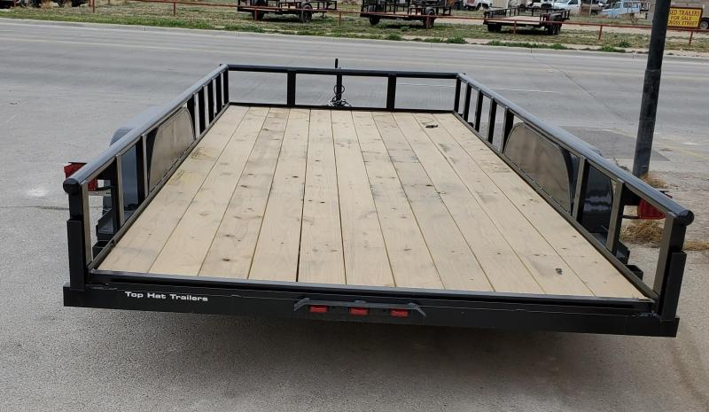 2021 Top Hat Trailers 18x83MP Utility Trailer
