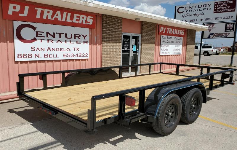 2020 Top Hat Trailers 16X83 MP Utility Trailer