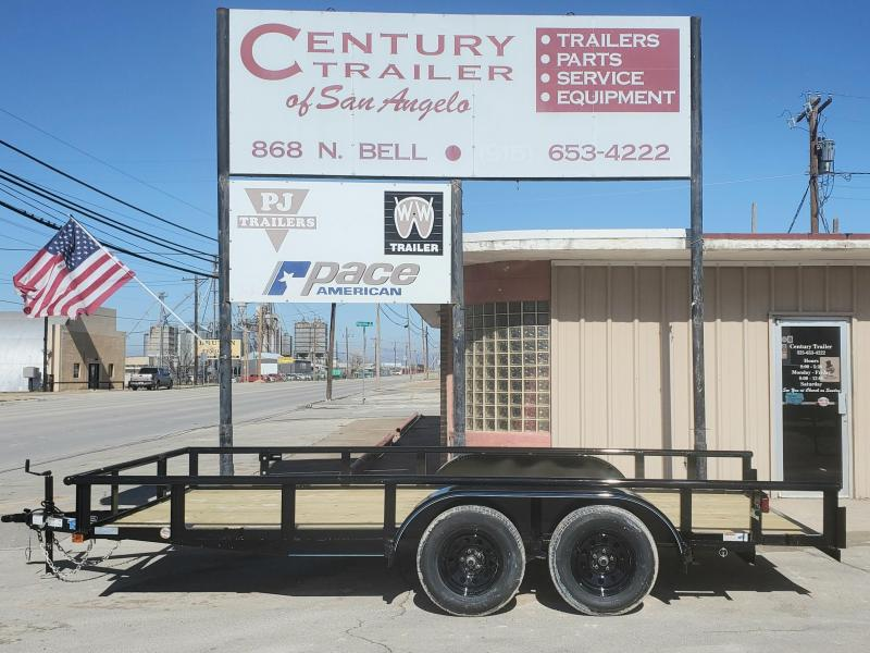 """2021 Top Hat Trailers 16x83""""MP Utility Trailer"""