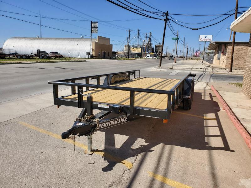 2021 Performance Trailers MP182 Utility Trailer