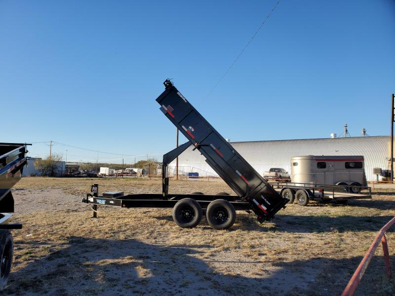 2021 Top Hat Trailers DPX140-14X83-14E-F Dump Trailer