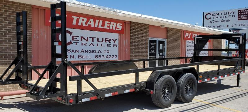 2020 PJ Trailers ccs2472bsckbz Equipment Trailer
