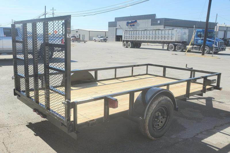 "2021 Top Hat Trailers 12x77""DSA Utility Trailer"