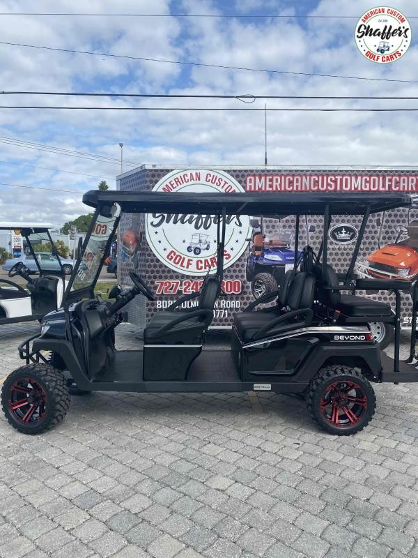 2021 Bintelli Beyond CUSTOM BLACK LIFTED 6pr Golf Cart