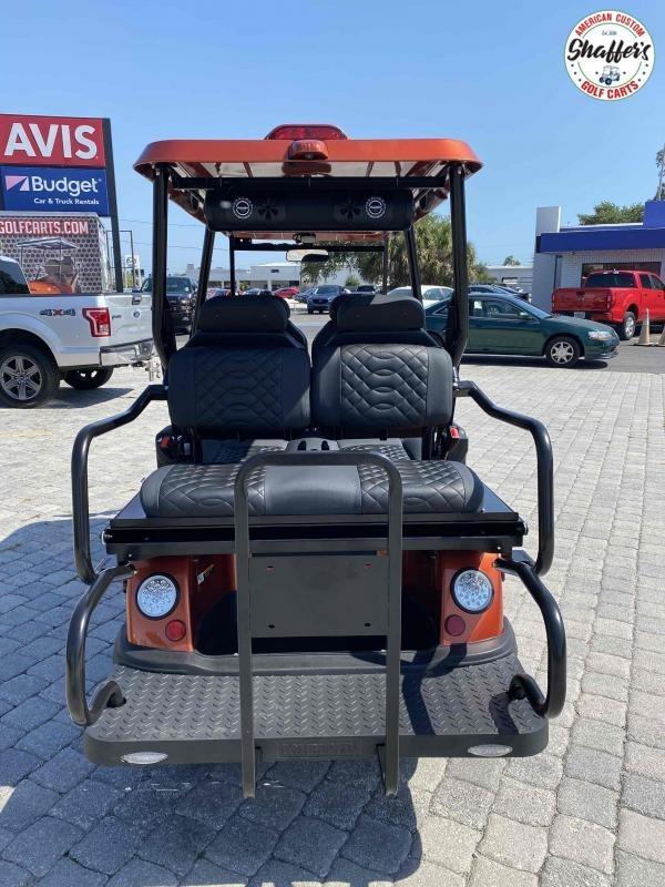 2021 Tomberlin Sedona Orange E-Merge GT 4+2 6 passenger Street Legal LSV Golf cart