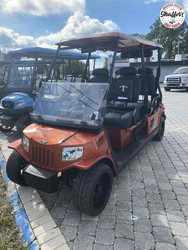 2021 Tomberlin Sedona Orange E-Merge GT 4 Golf Cart