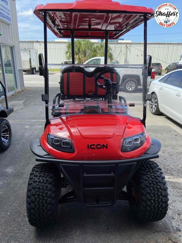 2021 RED ICON i40 L Lifted Golf Cart