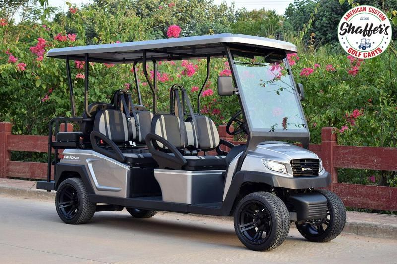 2021 Bintelli Beyond Orange 6pr Golf Cart