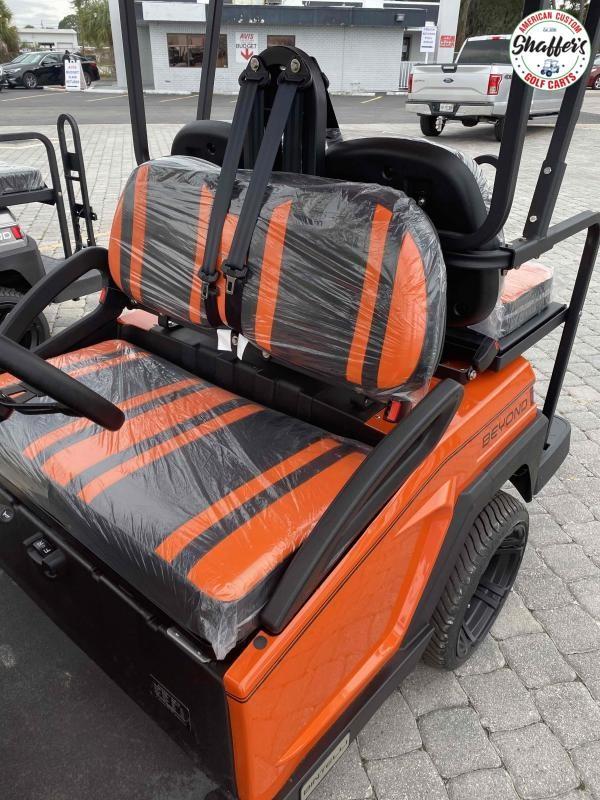 2021 Bintelli Beyond ORANGE 4pr Golf Cart