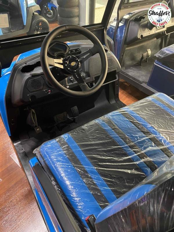2021 Bintelli Beyond Ocean Blue 4pr Golf Cart