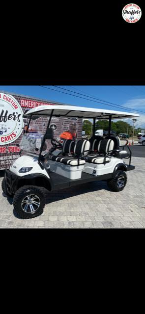 2020 ICON White i60L Lifted 6 passenger Golf Cart