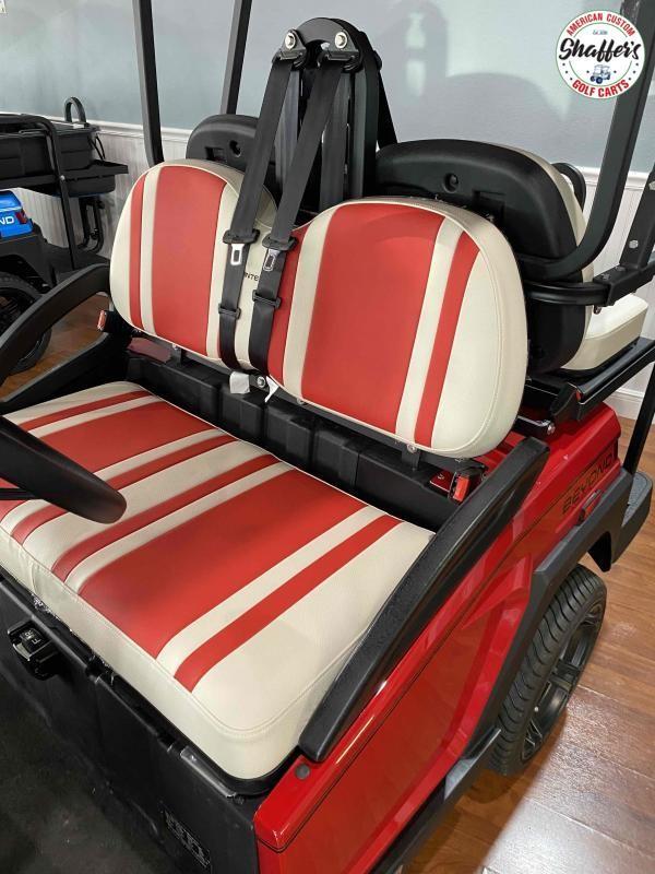 2021 Bintelli Beyond Candy Red 4pr Golf Cart