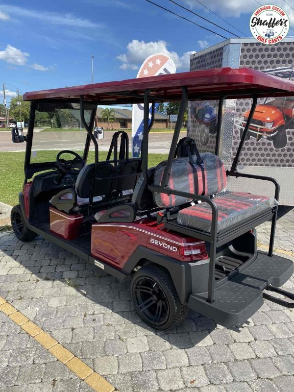 2021 Bintelli Beyond Burgundy 6pr Golf Cart