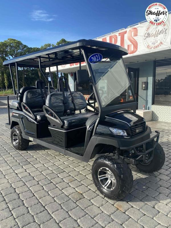2021 Bintelli Beyond BLACK LIFTED 6pr Golf Cart
