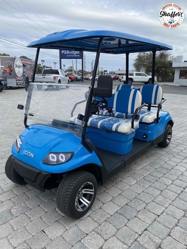 2021 ICON i40F 4 Passenger Forward Facing Golf Cart