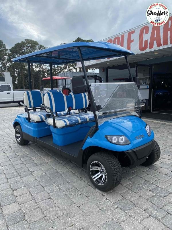 2021 ICON i40F 4 Passenger Forward Facing Golf Cart