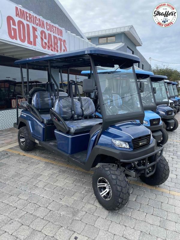 2021 Bintelli Beyond NAVY BLUE LIFTED 6pr Golf Cart