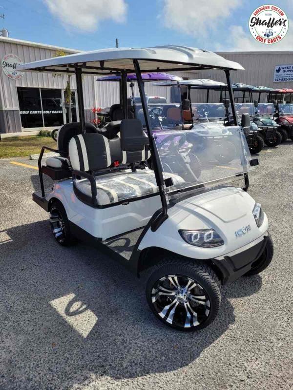 2021 Custom ICON i40 4 passenger Golf Cart