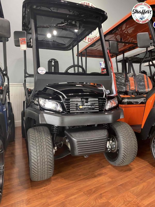 2021 Bintelli Beyond  Black 4pr Golf Cart