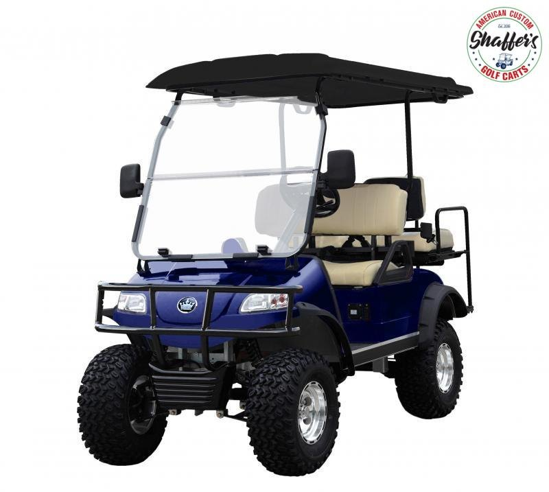 2021 Evolution SILVER Forester 4 PRO Golf Cart