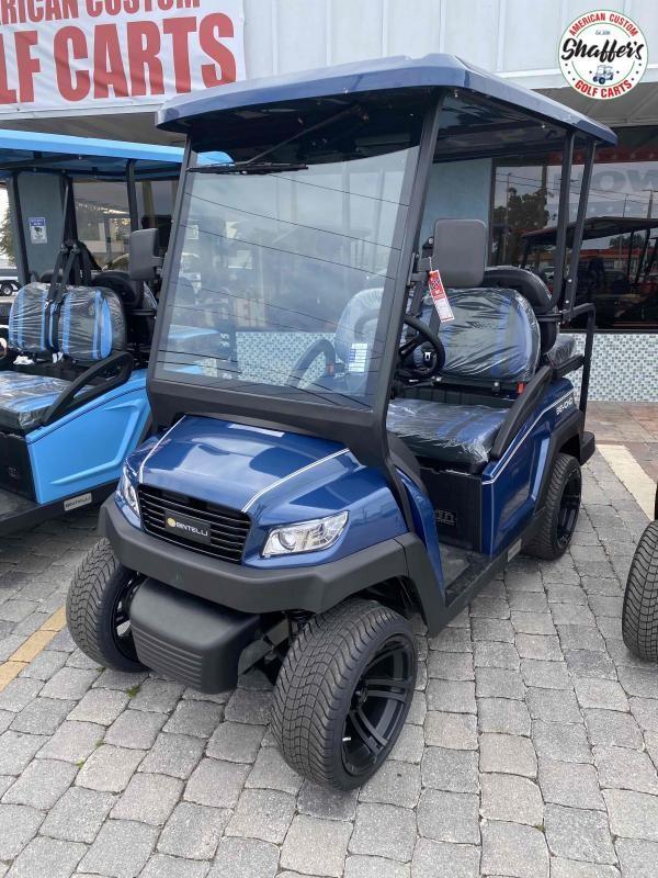2021 Bintelli Beyond NAVY Blue 4pr Golf Cart